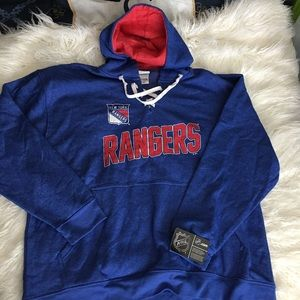 NWT Men's New York Rangers Hoodie